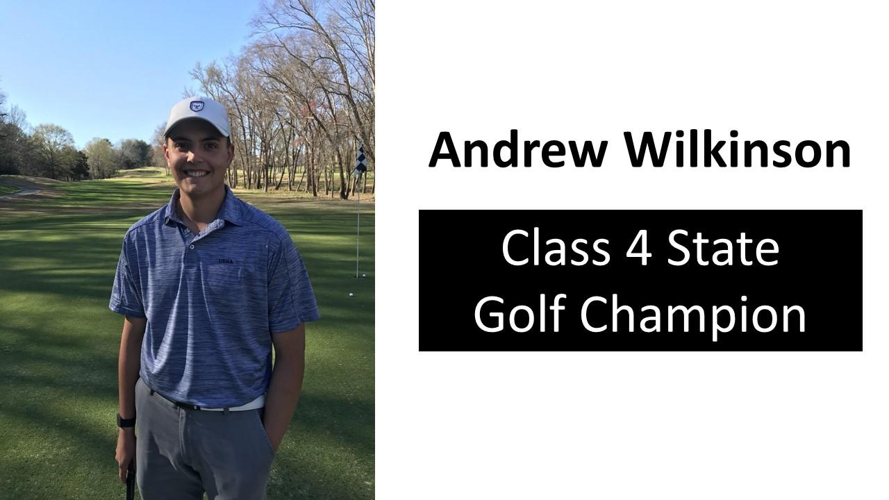 Andrew Wilkinson: State Golf Champion!