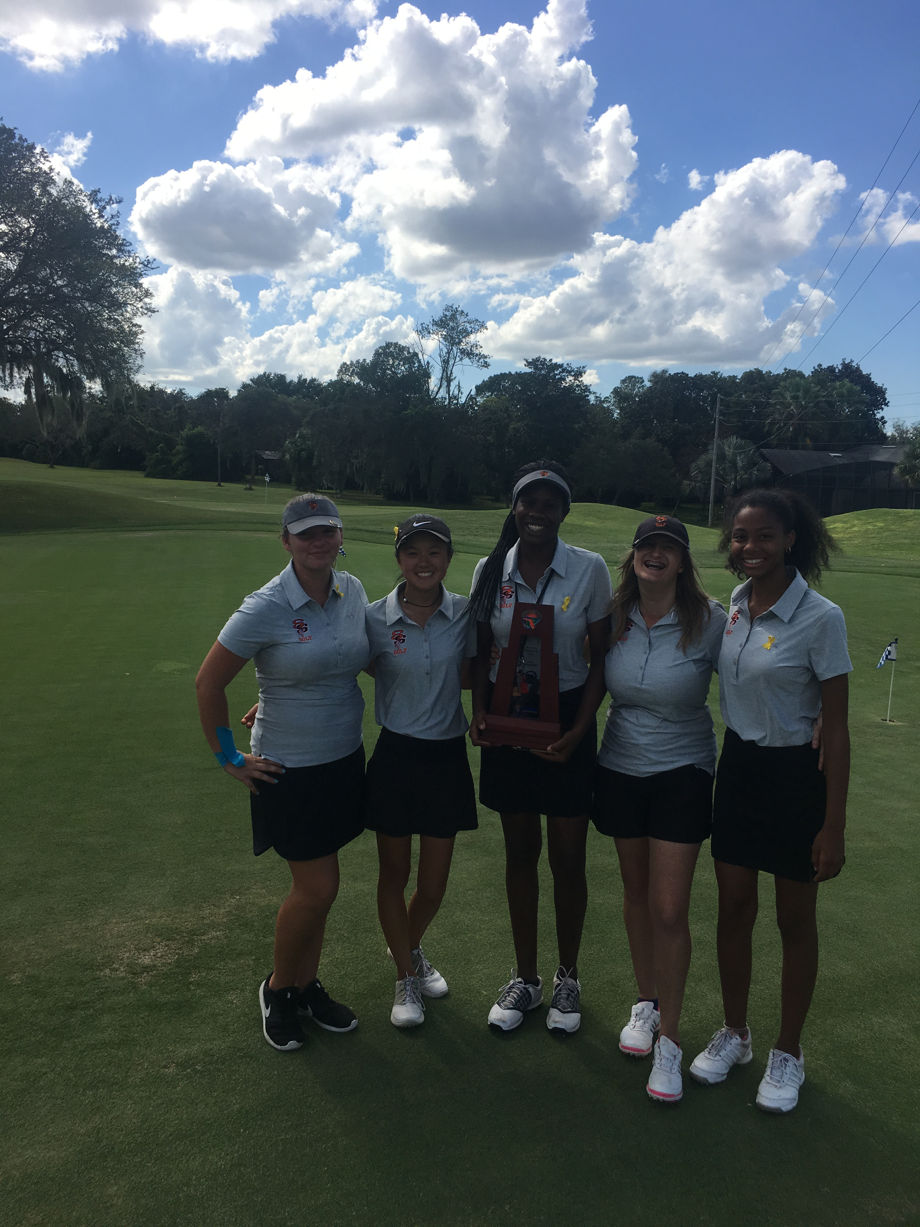Lady Noles Golfers are District Runners-Up!