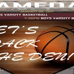 FIRST DISTRICT GAMES TONIGHT! COME OUT- BE LOUD!