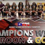GIRLS BASKETBALL – DISTRICT 5A CHAMPS