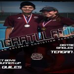 GIRLS/BOYS TENNIS: DISTRICT SINGLES