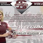 WELCOME MS. ROBIN GERLICH – ATHLETIC COORDINATOR/HEAD VOLLEYBALL COACH