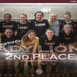LADY LIONS VOLLEYBALL – 2nd PLACE