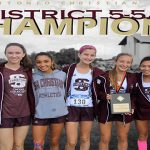 2017 DISTRICT 5-5A CHAMPIONS – LADY LIONS CROSS COUNTRY TEAM
