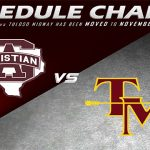 FOOTBALL SCHEDULE CHANGE!! SACS @ TM NOVEMBER 9, 7PM