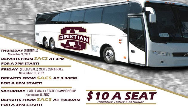 GET ON THE FAN BUS!! $10 A SEAT