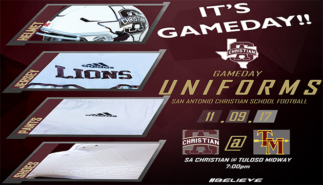 IT'S GAMEDAY!! SACS at Tuloso Midway 7PM (FOOTBALL)