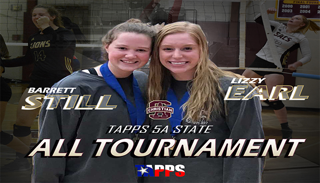 Congrats to our two TAPPS 5A All-Tournament Selections