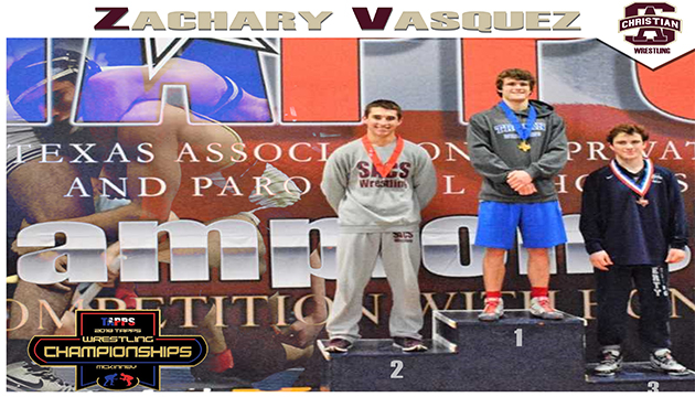 VASQUEZ SECOND PLACE AT TAPPS STATE CHAMPIONSHIPS