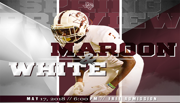 2018 MAROON AND WHITE SPRING PREVIEW – (Gideon Martinez Story in Article)