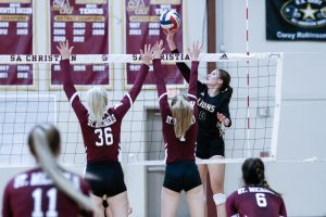 SACS Volleyball vs. St. Michaels 2018_09_24