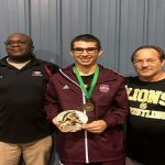 VASQUEZ EARNS OUTSTANDING WRESTLER HONORS AT EAGLE OPEN