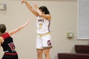 Sacs Girls Basketball vs Marble Falls