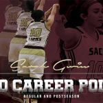 Sarah Gwin hits her 2,000th career point at AT&T Center!