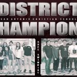DISTRICT CHAMPIONS! BOYS & GIRLS SWIM TEAM TAKE THE TITLE!