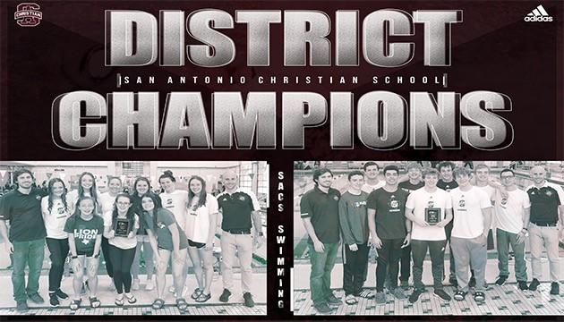 DISTRICT CHAMPIONS! BOYS & GIRLS SWIM TEAM TAKE THE TITLE!