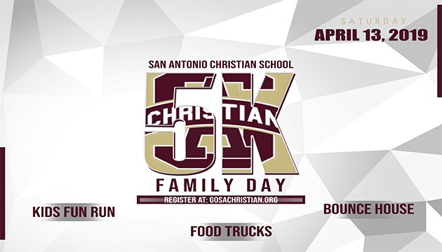 SACS 5K and Family Day- April 13! Register Today!