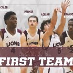 Varsity Boys Basketball First Team Alll District!
