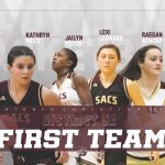 Varsity Girls Basketball First Team All District!