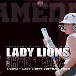 IT'S GAMEDAY!! Lady Lions first pitch against Hyde Park is set for 5pm!!