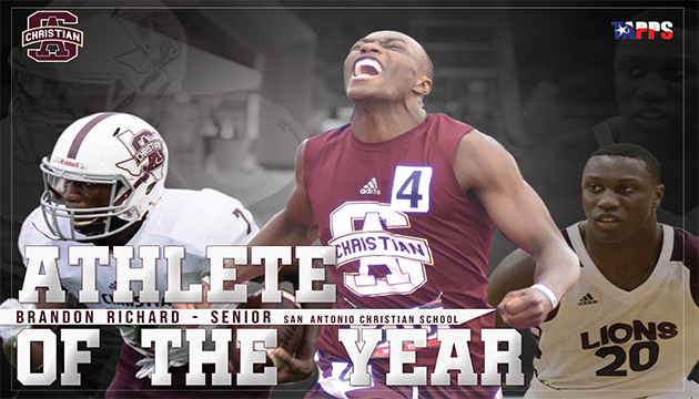 Richard receives TAPPS Athlete of the Year Honors