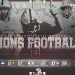 2019 FOOTBALL SCHEDULE- SEE YOU SOON LIONS!