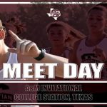 MEET DAY! Cross Country compete this morning at A&M!