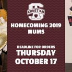 LAST DAY TO BUY HOMECOMING MUMS!