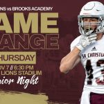 FOOTBALL NIGHT IS THURSDAY!