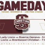 Lions Soccer take the Field at 5 & 7 tonight!