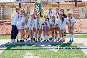 Girl's Varsity Soccer-Edgewood ISD Tournament Champions 01/11