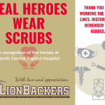 LionBackers Salute Medical Providers on the Front Lines!