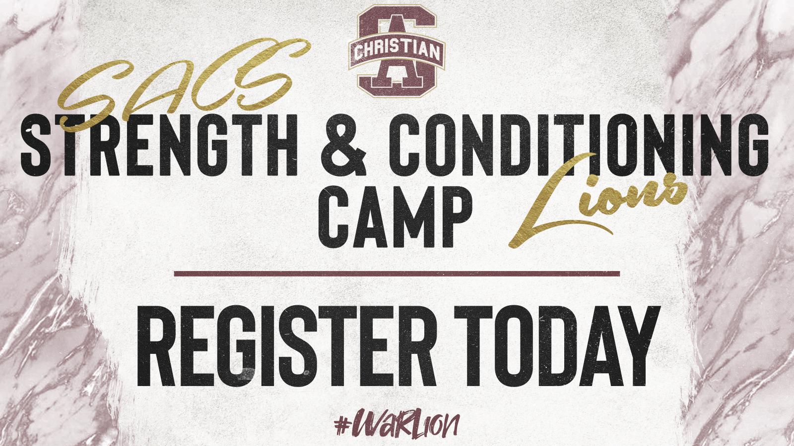 Camp Starts June 1- Register Now!!