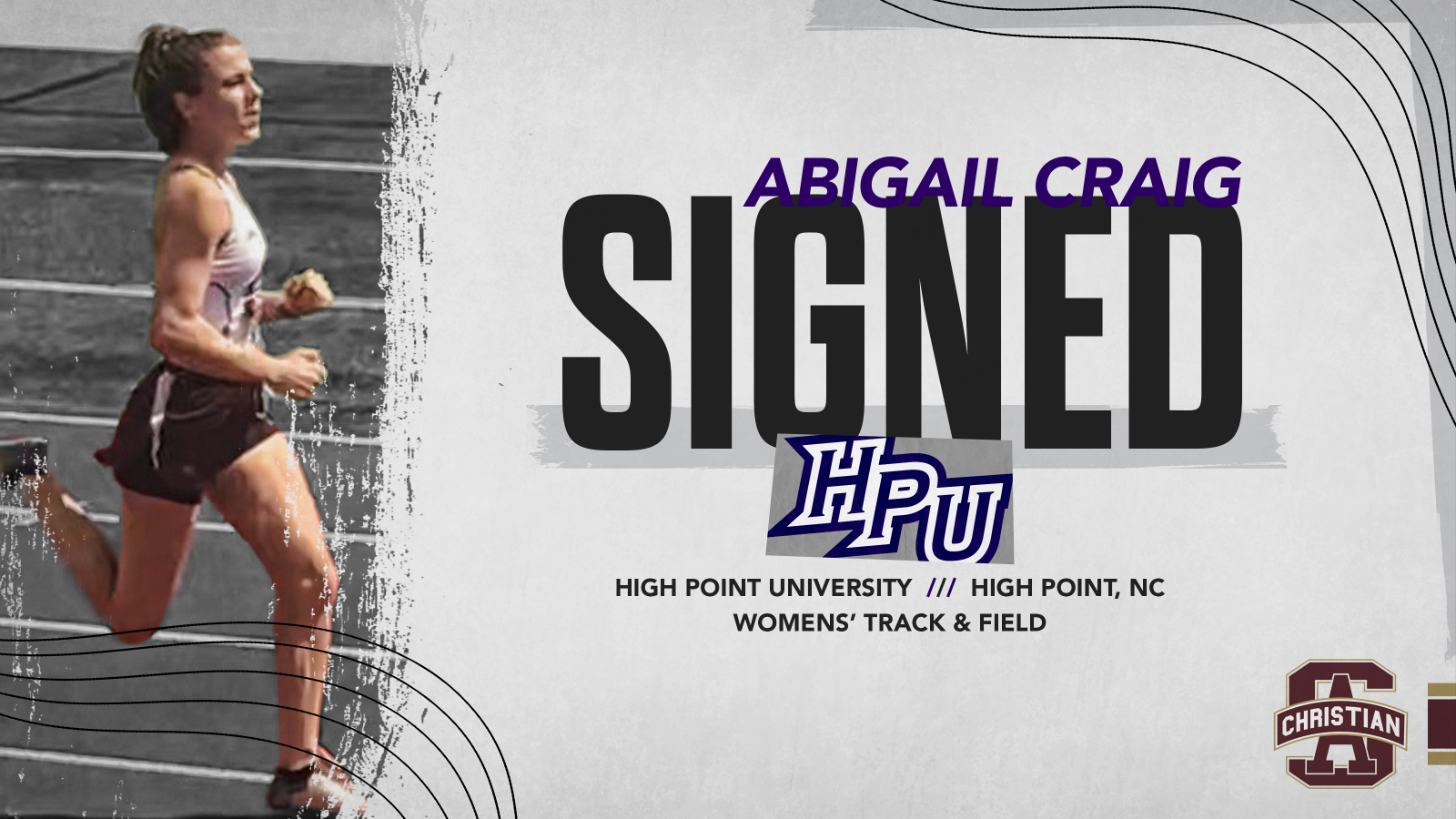 Signing Day- Abigail Craig!
