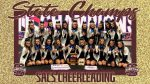 SACS Varsity Cheerleaders are your new State Champions!