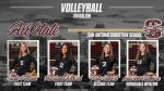Volleyball All State Players!
