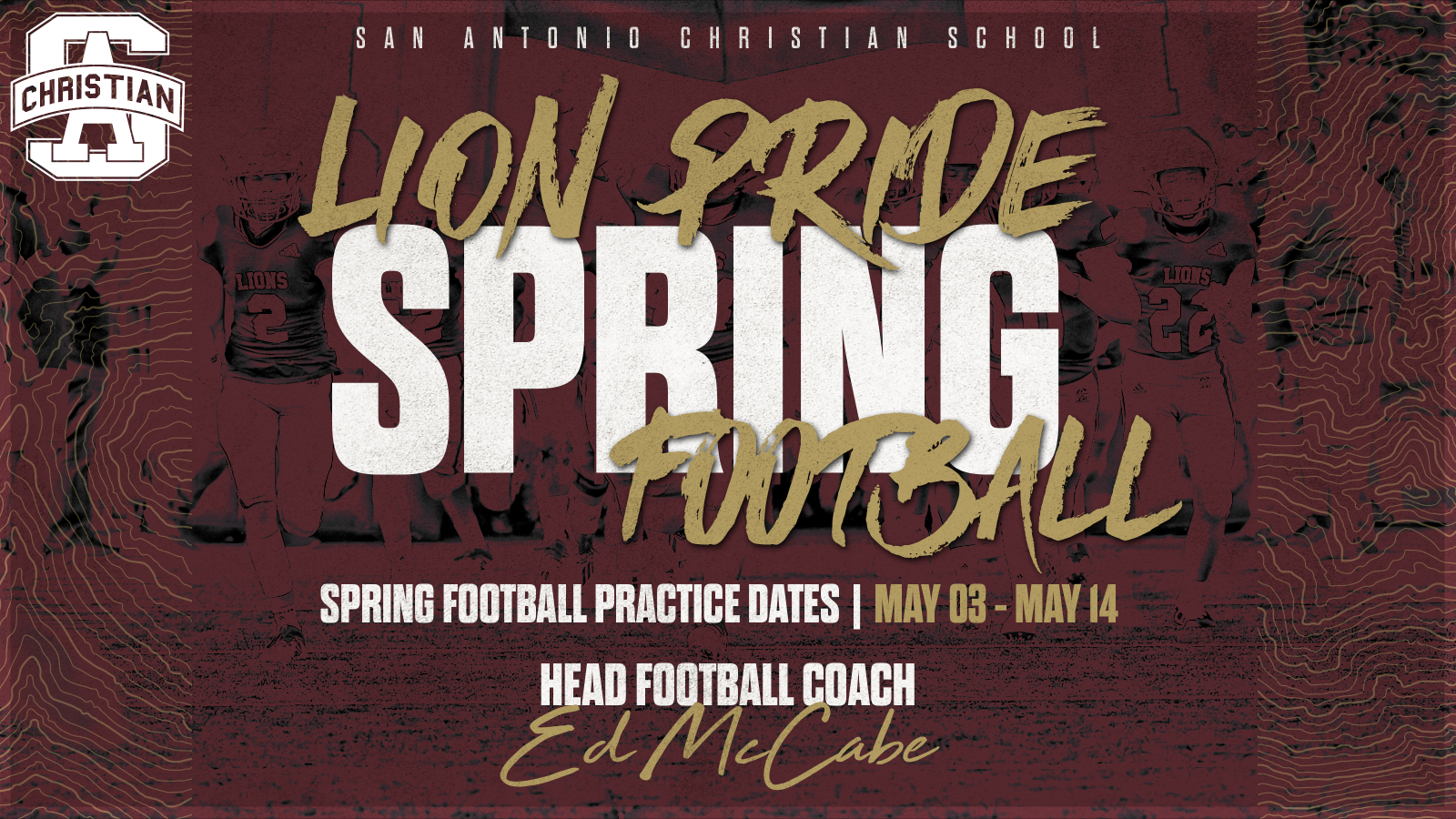 High School Spring Football is Here!