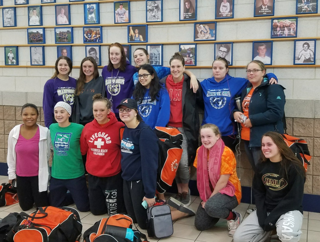 Swim Improves League Standing at SCC Tournament