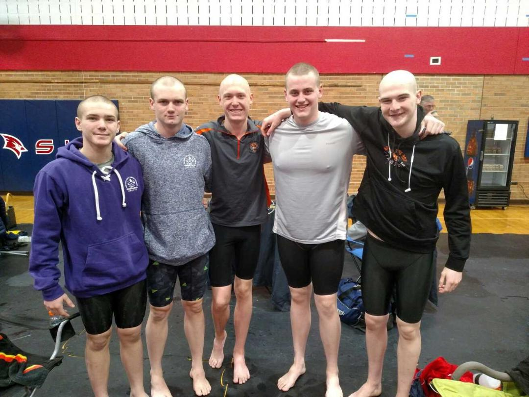 Boys Swim Competes at The State Finals This Weekend