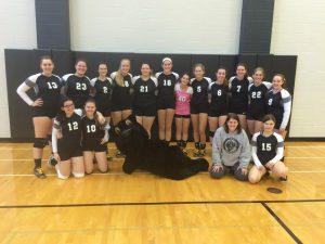 2015 Varsity and JV Volleyball Season
