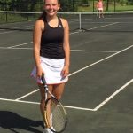 Our Lady Of The Elms High School Girls Varsity Tennis beat Gilmour Academy 3-2