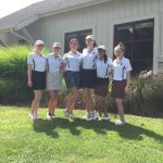 Elms Varsity Golf falls to Saint Vincent-Saint Mary High School 167-195