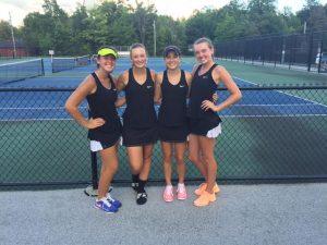 Varsity Tennis @Hawken 8.25.16