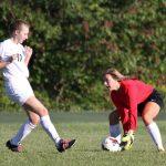 Our Lady Of The Elms High School Girls Varsity Soccer beat McKinley High School 4-2