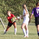 Our Lady Of The Elms High School Girls Varsity Soccer falls to Wooster Triway 5-1