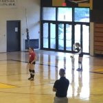 Our Lady Of The Elms High School Girls Varsity Volleyball beat Kenmore High School 3-0