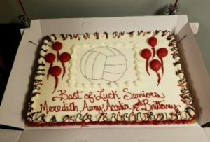 Volleyball Senior Night vs. Western Reserve Academy