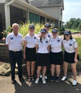 Girls Varsity Golf 8.9.17