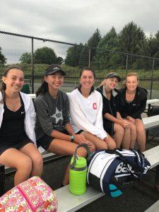 Elms Varsity Tennis @WRA Doubles 8.19.17