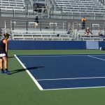 Tennis Finishes Top 8 in State